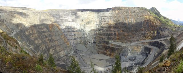 Barrick Porgera JV is an open pit and underground gold mine in Papua New Guinea's Western Highlands.