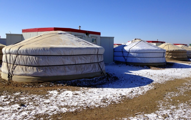 Verne Vice rated accommodation at Oyu Tolgoi as among the best he's seen. 'The rooms had everything you need along with good wifi and a surprisingly comfortable heat compared to the minus 30 outside.