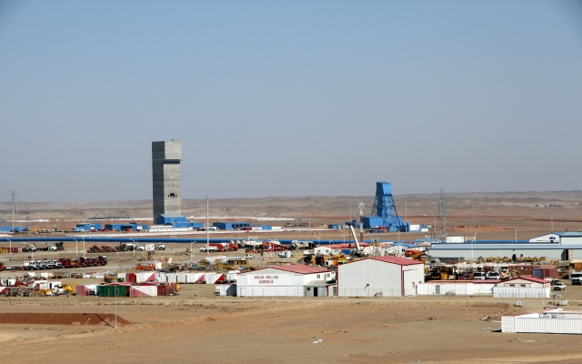 The Oyu Tolgoi operation consists of open-pit and underground mines, a processing plant and supporting infrastructure.