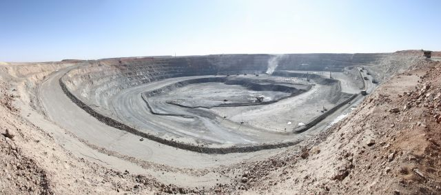 The Oyu Tolgoi copper-gold mine in southern Mongolia will be Mongolia's largest copper and gold mine, and one of the largest mine's in the world.